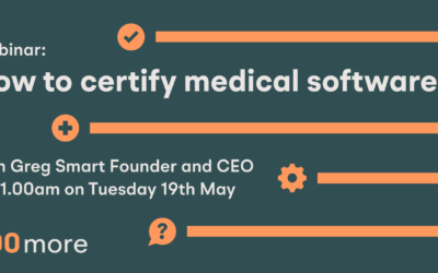 Webinar 2: Certifying Medical Software