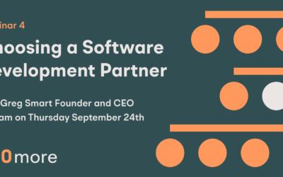 Webinar 4: Choosing a Software Development Partner